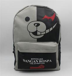 ae2d50dabe Dangan Ronpa Danganronpa Monokuma Cosplay High Quality School Bag Backpack  Bag 30CM   40 CM Christmas Gift Bag