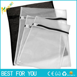 Wholesale Laundry Wash Bag Mesh - Set of 4 (2 Large & 2 Medium ) Delicates Laundry Mesh Wash Bags Laundry Bra Lingerie Travel Laundry Bag