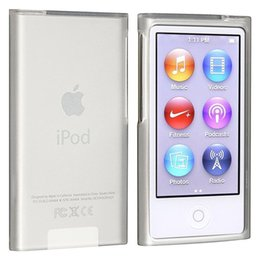 Wholesale Soft Silicone Tpu Gel Case - New Frost Clear White TPU Silicone Gel Rubber Soft Skin Case Cover For Apple iPod Nano 7th Gen 7 7G cases fundas coque