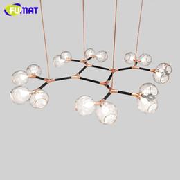 MODO Horus Pendant Light Lampade Glass Bubble Pendant Lamp Branching Bubble Designer  Living Room Dining Room LED Suspension Light