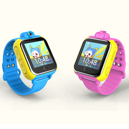 Wholesale Touch Mobile Watch Phone - Q730 Children Smartwatches Kids Touch Screen Smart Watch Smart Watch For Android ISO Cell Phone Intelligent Mobile Phone Watch 2601113
