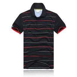 Wholesale White Bow Coat - Wholesale 2017 Summer Hot Sale Polo Shirt Brand Polos Men Short Sleeve Sport Crocodile Logo Polo Man Coat Drop Free Shipping