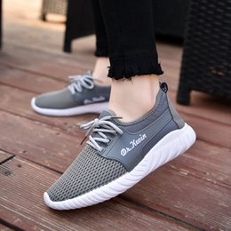 Wholesale Beijing Summer - Flat mesh shoes new old Beijing shoes fashionable ladies coconut comfortable ventilation running casual shoes woman wholesale