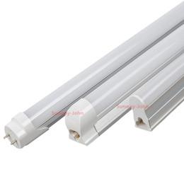 Wholesale T5 Led Light Tube Smd - NEW AC DC 12V 24V T5 T8 LED tube Light 4ft Integrated LED tubes 18w 1.2m led lights warm nature cool white