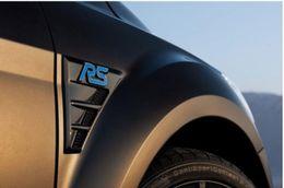 Wholesale Rs Emblem Metal - S ST RS Chrome Metal Refitting Styling Car Emblem Badge Auto Exterior Decal 3D Sticker Grille Emblem for FORD Focus Mondeo