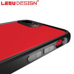 Wholesale Transparent Mobile Phones For Sale - LEEU DESIGN shock absorption slim case for iphone 7 Transparent acrylic + Soft TPU Frame mobile phone case covers for iphone 7 for sale