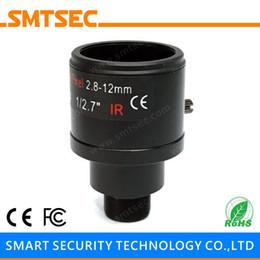 "Wholesale M12 Lens Hd - Wholesale- SL-2812BVMP Manual Zoom 2.8-12 mm Varifocal HD MegaPixel 1 2.7"" M12 Mount 95.5-30.8 Degree CCTV Lens For IP Security Camera"