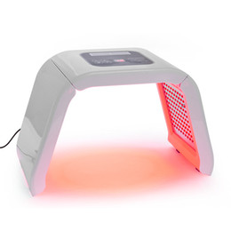 Wholesale Pdt Light Therapy - Portable OMEGA 4 Color PDT LED Light Therapy Facial Rejuvenation Acne Remover 4 Light Skin Care PDT Beauty Machine.