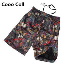 Wholesale Fashion Followers - Wholesale-Summer Brand style Cotton fashion loose casual shorts hip-hop beach shorts Follower printing short black M-XL Cooo Coll