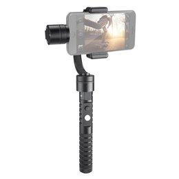 "Wholesale Aluminum Gimbal - AFI V2 Aluminum Alloy CNC Phone 3-Axis Handheld Gimbal Stabilizer for 3.5"" to 5.5"" Smartphone Cellphones"