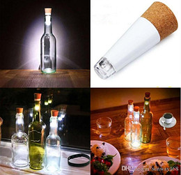 Wholesale Glow Cups Wholesale - New arrive LED bottle lights glowing wine bottle dinner party docoration USB charge use 2.5 hours DHL free shipping
