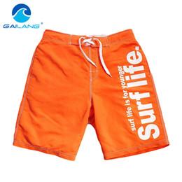 Wholesale Mens Xxl Beach Shorts - Gailang Brand Fashion Mens Board Shorts Beach Bermuda Boxer Trunks Shorts Mens Casual Shorts Big Size XXL Man Swimwear Swimsuits