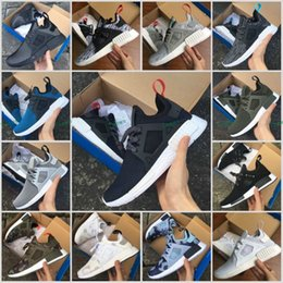 Wholesale Youth Skis - Hot New High Quality Adult XR1 Fall Olive green Sneakers Women Men Youth Glitch Black White Blue Camo Running Shoes