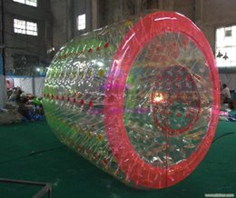 Wholesale Water Ball Rollers - Free Shipping 2.2m 0.8mm PVC Inflatable Water Ball Price Water Roller Inflatable Hamster Ball