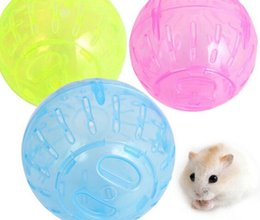 Wholesale Hamsters Free Shipping - Pet Rodent Mice Jogging Hamster Gerbil Rat Toy Plastic Exercise Ball Lovely free shipping MYY