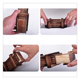 cajon de juguete Rebajas Juguetes de rompecabezas mágicos Caja de madera con cajón secreto extra seguro Cajas de rompecabezas Juguetes de inteligencia Puzzle marrón Truco secreto de madera Jugar por diversión