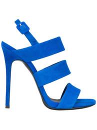 6e83cf9d70b05b Zandina Hot Sale New Arrival Womens Handmade Slingback Sandals 12cm High  Heel Party Dress Shoes Blue