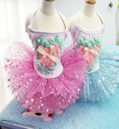Wholesale Rabbit Clothing For Dogs - Top Sale 2017 High-end Woolen Dog Clothes Dress Luxury Autumn Winter Pink Rabbit Princess Skirt Wedding Pet Clothes For Puppy Animals Abby