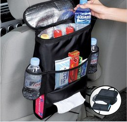Wholesale Nylon Car Covers - Keep Warm Cold Car Back Seat Organizer holder Storage Bag Baby Kick Mat Protector Travel Tissue Box Pouch Hanger Mud Cover