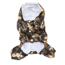 Impermeabile per animali domestici di qualità superiore con cappuccio Cappotto impermeabile impermeabile per cani da compagnia impermeabile impermeabile da giacca a doppia cappuccio fornitori