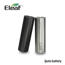 Wholesale Electronic Cigarette 4ml - 100% Original Electronic Cigarette Eleaf iJust S Mod 3000mah Battery Support with 4ml Atomizer 0.18ohm Top Head shisha pen