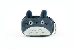 Wholesale Totoro Wallet Wholesale - Wholesale- MY Neighbor TOTORO NEW SIZE 12*7CM Plush Coin Purse Wallet Pouch Case BAG ; Pocket Coin Bags Pouch Makeup Case BAG Handbag