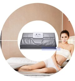 Wholesale Far Infrared Saunas - 2017 new arrival body slimming Far Infared Blanket Sauna Thermal Blanket Appratus Infrared Heating Blanket Weight Loss Infrared machine