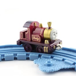 Wholesale Engine Magnetic - Lady cheap trains toys models diecast the tank metal Thomas trains magnetic engine Locomotive carriage tender collection toys for children