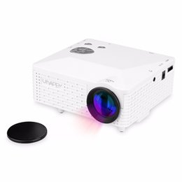 Wholesale Led Home Theatre Projector - Wholesale-Uhappy BL18 Mini Portable Projector Home Theatre Cinema AV VGA USB SD HDMI Proyector With LED Lamp High Definition LCD Projector