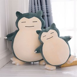 Wholesale Cartoon Toy Pillow - 30cm Pikachu Snorlax Plush Doll Toy Cute Stuffed Animals Plush Toys Children Gift Cartoon Peluche Pikachu Pillow Dolls