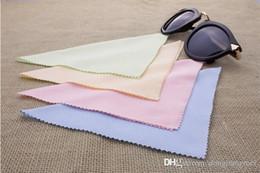 Deutschland 4000 stücke 135 * 135mm Hohe qualität Bunte mikrofaser sonnenbrille tuch professionelle brillenreinigungstuch sunglass brillen tuch Y305 Versorgung