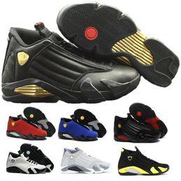 Wholesale Pink Star Shoes - Airlis Basketball Shoes Retro 14 Sneakers Men 2016 White Authentic Retro 14s Sports Homme Low Retro Shoe