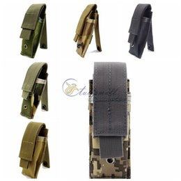Wholesale Molle Waist - Multifunction Survival Gear Tactical Pouches Molle Pouches , Single Surplus Cartridge Clip Pouch Bag Pistol Magazine Pouch Mag