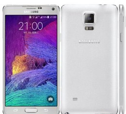 Wholesale Phone Sale Quad Core - 2016 Hot Sale Samsung Galaxy Note 4 Original Unlocked Cell Phone with 16mp Camera 3gb Ram and 32gb Rom 3g 4g Touch phone