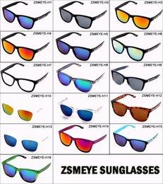 Wholesale Sunglasses Spy Quality - ZSMEYE Hot 2017 High Quality spied ken block Sunglasses Men Women Brand Designer Outdoor Sport Sun Glasses 16 colors UV400 without brand box