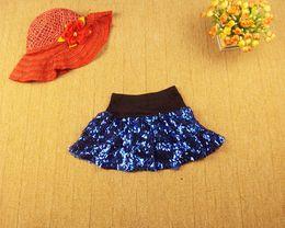 Wholesale Gymnastics Wear - DS cheerleading gymnastics wear performance apparel sequined miniskirts mini skirt stage costume