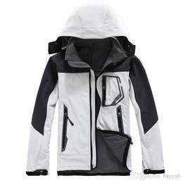 Wholesale Shell Duck - 2017 Brand Men Outdoor Fleece Thermal Hiking Jacket Soft shell Waterproof Moutain Climbing Ski Windstopper Coldproof Jackets