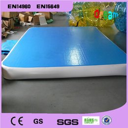 Wholesale Mat Tracks - Free Shipping!2*1m Inflatable Tumble Track Trampoline,Air Track Gymnastics ,Inflatable Air Mat