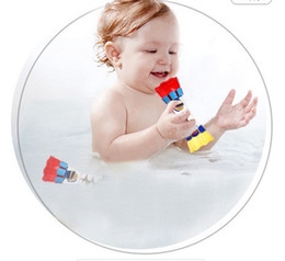 Wholesale Sports Columns - 2017 new very fun, very interesting Children's bath water column water cup baby toy rotating Kaleidoscope Toy bathroom