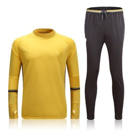 Wholesale Mens Grey Suit Pants - ^_^ Wholesale soccer tracksuit JUV top AAA quality long sleeve Training suit pants football training clothes sports wear mens Sweater