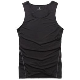 Wholesale Tight Sexy Vest Men - Wholesale- 7 Colors Men Bodybuilding Vest Tank Top Jersey Quick-dry Tights Tops Undershirt
