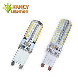 Wholesale g9 energy saving bulbs - Wholesale- Led lamp g9 5w 7w 10w 220v smd 2835 3014 energy saving lamp spotlight light bulb for chandelier pendant lamp luminaria power led