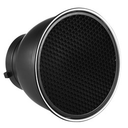 """Wholesale Diffuser Shade - 7"""" Standard Reflector Diffuser Lamp Shade Dish with 60 degree Honeycomb Grid for Bowens Mount Studio Strobe FlashLight Speedlite"""