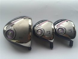 Wholesale Golf Clubs Full Sets - 12PCS Women XXIO MP900 Full Set Women Golf Clubs Lady Golf Clubs Driver + Fairway Woods + Irons Graphite Shaft Assemble With Head Cover