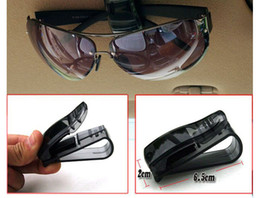 Wholesale Auto Glass Accessories - Auto Fastener Cip Auto Accessories ABS Car Vehicle Sun Visor Sunglasses Eyeglasses Glasses Ticket Holder Clip Mew Arrival