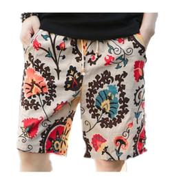 Wholesale Orange Pans - Wholesale- Men Fashion Beach Shorts Men Summer Style Swimwears Male Causal Loose board shorts Drawstring pans