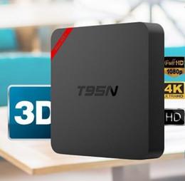 Wholesale Mx Google Box - Mini MX T95N Android TV Box Amlogic S905 Mini MX+ smart box Android 5.1 4K 1G+8G VS MXQ S805 S905 M8S TV BOX
