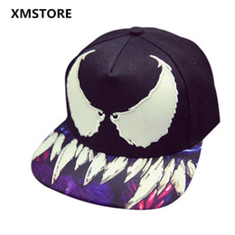 Wholesale Snapback Red Wing - Wholesale- 2017 Fashion Devil Wings Embroidery Hip-Hop Hat Sport Baseball Cap Adjustable Snapback Casquette Leisure Caps For Men Women W33