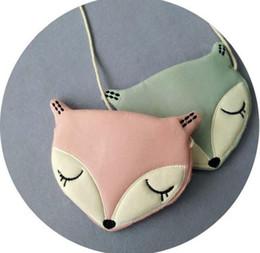 Wholesale Cartoon Fox Satchel Bags - FOX bag Bohemia Beach Shoulder Bags Child Backpack Handbag Kids Bags Satchel Bag Girls Backpacks Bag Backpack Purses Girls Bags A 080
