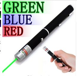 Wholesale Green Red Blue Laser Pointer - High Quality Powerful Green Red  Blue Laser Pointer Pen Beam Light 5mW Caneta Laser